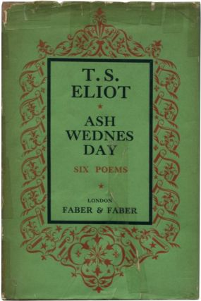 ASH-WEDNESDAY. T. S. Eliot