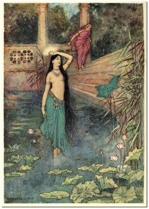 FOLK-TALES OF BENGAL. Lal Behari Day, Warwick Goble.