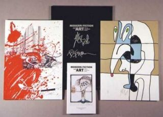 MODERN FICTION AND ART: Prints by Contemporary Authors. Ralph Steadman, Kurt Vonnegut.