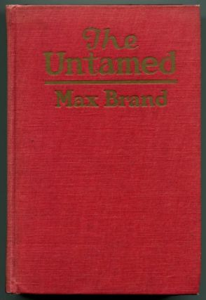 THE UNTAMED.