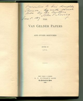 THE VAN GELDER PAPERS: And other sketches. John T. Irving