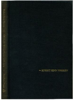 OR ELSE-- Poem/Poems 1968-1974. Robert Penn Warren.