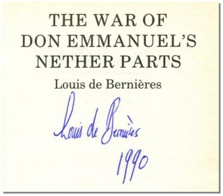 THE WAR OF DON EMMANUEL'S NETHER PARTS.