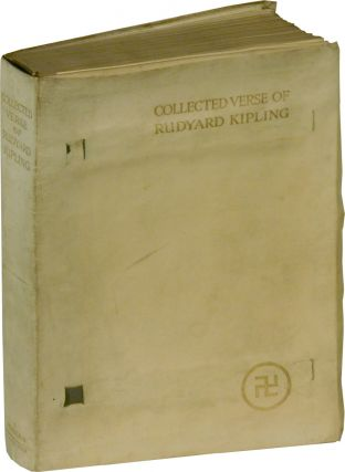 COLLECTED VERSE OF RUDYARD KIPLING. Rudyard Kipling.