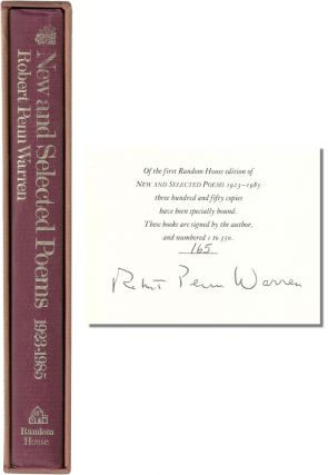 NEW AND SELECTED POEMS 1923-1985. Robert Penn Warren.