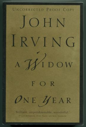 A WIDOW FOR ONE YEAR. John Irving.
