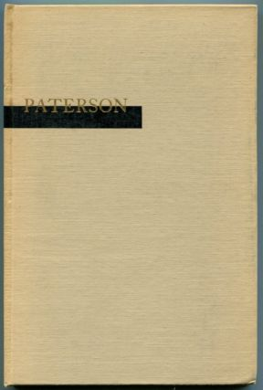 PATERSON: BOOK ONE. William Carlos Williams.