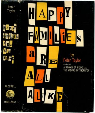 HAPPY FAMILIES ARE ALL ALIKE: A Collection of Stories.