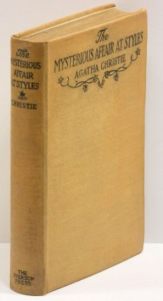 THE MYSTERIOUS AFFAIR AT STYLES. Agatha Christie.