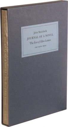 JOURNAL OF A NOVEL: The East of Eden Letters.