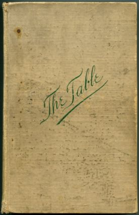 THE TABLE: How to Buy Food, How to Cook It, and How to Serve It. Cookbook, Alessandro Filippini