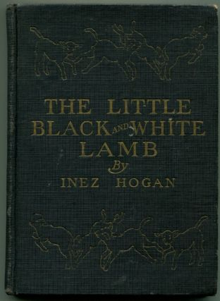THE LITTLE BLACK AND WHITE LAMB.