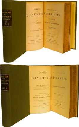 LEHRBUCH DER KINEMATIK [Textbook of Kinematics]: In Two Volumes.