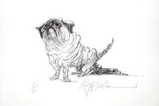 POOPSIE: Limited Edition, Signed Silkscreen Print. Ralph Steadman