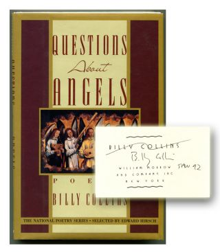 QUESTIONS ABOUT ANGELS: Poems. Billy Collins