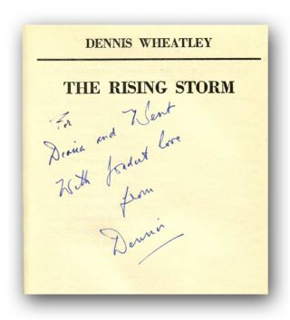 THE RISING STORM: A ROGER BROOK STORY.