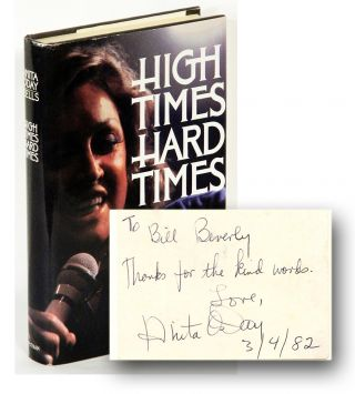 HIGH TIMES HARD TIMES. Anita O'Day