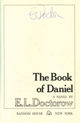 THE BOOK OF DANIEL. E. L. Doctorow