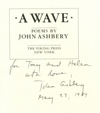 A WAVE: Poems.