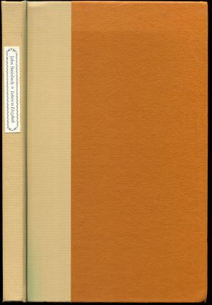 LETTERS TO ELIZABETH: A Selection of Letters from John Steinbeck to Elizabeth Otis. John Steinbeck