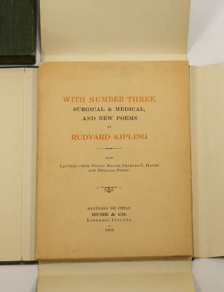 WITH NUMBER THREE, SURGICAL & MEDICAL, AND NEW POEMS; Also Letters from Julian Ralph, Charles E. Hands and Douglas Story.