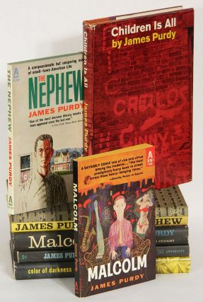 LOT OF SEVEN BOOKS, EACH ONE INSCRIBED TO POET LOUIS DANIEL BRODSKY: Color of Darkness; Malcolm; The Nephew; Children Is All.