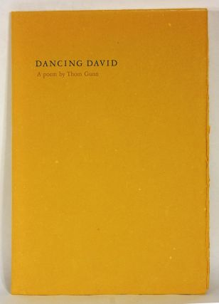 DANCING DAVID. Thom Gunn, illustrations, Dorothea Tanning