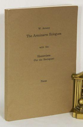 THE ARMINARM ECOLOGUES; With the Hexercises (for the Heclogues): Pieces. W. Antony, David Mus