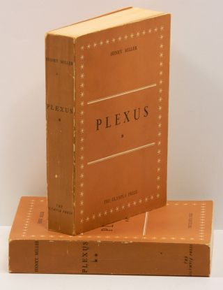 PLEXUS: The Rosy Crucifixion, Book Two [Volumes One and Two]. Henry Miller