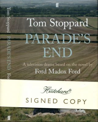 PARADE'S END. Tom Stoppard, , Ford Madox Ford.
