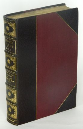 THE COLLECTED WORKS OF AMBROSE BIERCE: Volumes I - XII; Though not called for, all twelve volumes signed by Bierce.