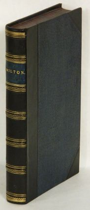 THE POETICAL WORKS OF JOHN MILTON; with A Memoir; and Seven Embellishments, Fuseli, Westall and Martin. John Milton.