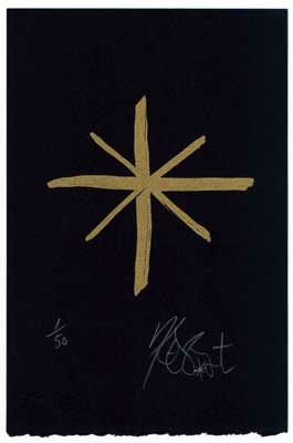 """MIDGET"", GOLD EDITION: Limited Edition, Signed Silkscreen Print"