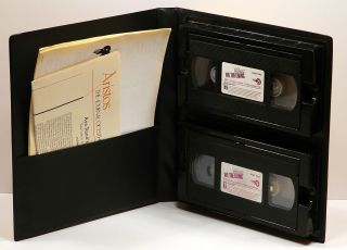 WE THE LIVING: The 1942 Italian Film Adaptation on VHS Double-Cassette in Clamshell Case with Promotional Materials.