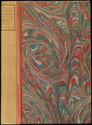 THE COMPLETE WRITINGS OF WILLIAM BLAKE: With All the Variant Readings. William Blake, Geoffrey...
