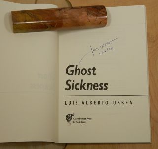 GHOST SICKNESS. [Poems].