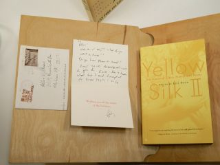 YELLOW SILK: EROTIC ARTS AND LETTERS; Together with YELLOW SILK II: INTERNATIONAL EROTIC STORIES AND POEMS.