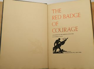 THE RED BADGE OF COURAGE; AN EPISODE OF THE AMERICAN CIVIL WAR.