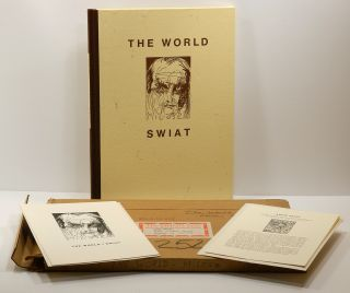 SWAIT / THE WORLD [cover title THE WORLD / SWAIT]: A sequence of twenty poems in Polish, translated into English by the poet, with an introduction by Helen Vendler and a portrait of the poet in dry-point engraving by Jim Dine.