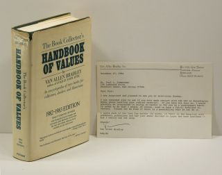 THE BOOK COLLETOR'S HANDBOOK OF VALUES: 1982-1983 Edition. Van Allen Bradley