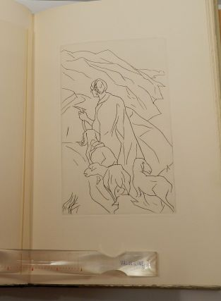 THE LOVING SHEPHERDESS; With Nine Original Etchings by Jean Kellogg.