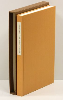 WHERE SHALL I TAKE YOU TO: The Love Letters of Una and Robinson Jeffers [1/225 numbered copies in cloth].