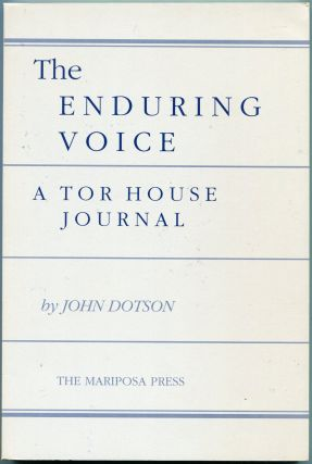 THE ENDURING VOICE. John Dotson, Robinson Jeffers