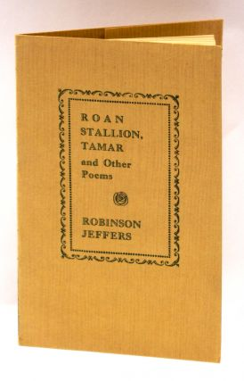 ROAN STALLION, TAMAR AND OTHER POEMS.
