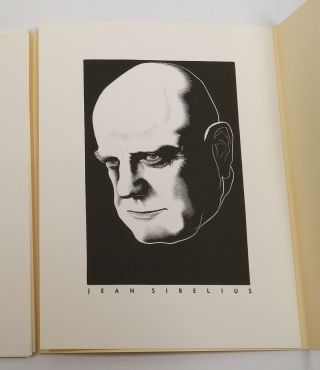 GREAT COMPOSERS FROM 12 WOOD ENGRAVINGS BY PAUL LANDACRE.
