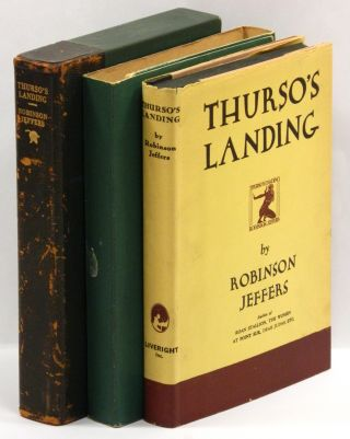THURSO'S LANDING AND OTHER POEMS. Robinson Jeffers
