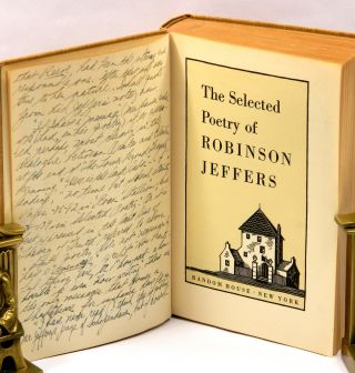 THE SELECTED POETRY OF ROBINSON JEFFERS.