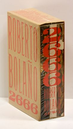 2666; (Three volumes). Roberto Bolano