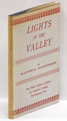 LIGHTS IN THE VALLEY. Maxwell Bodenheim
