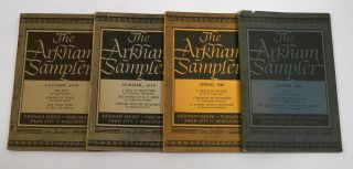 THE ARKHAM SAMPLER: Volumes One, Numbers 1 - 4.